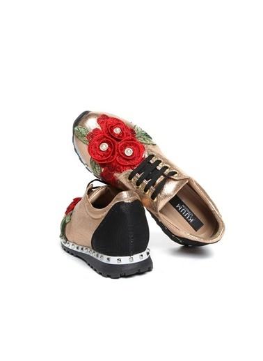 Kuum Sandalet Bronz